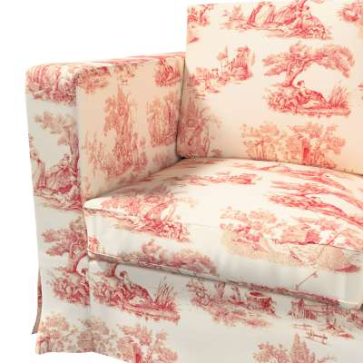 Karlanda 3-üléses  kanapé huzat nem kinyitható hosszú a kollekcióból Avinon Lakástextil, Dekoranyag: 132-15