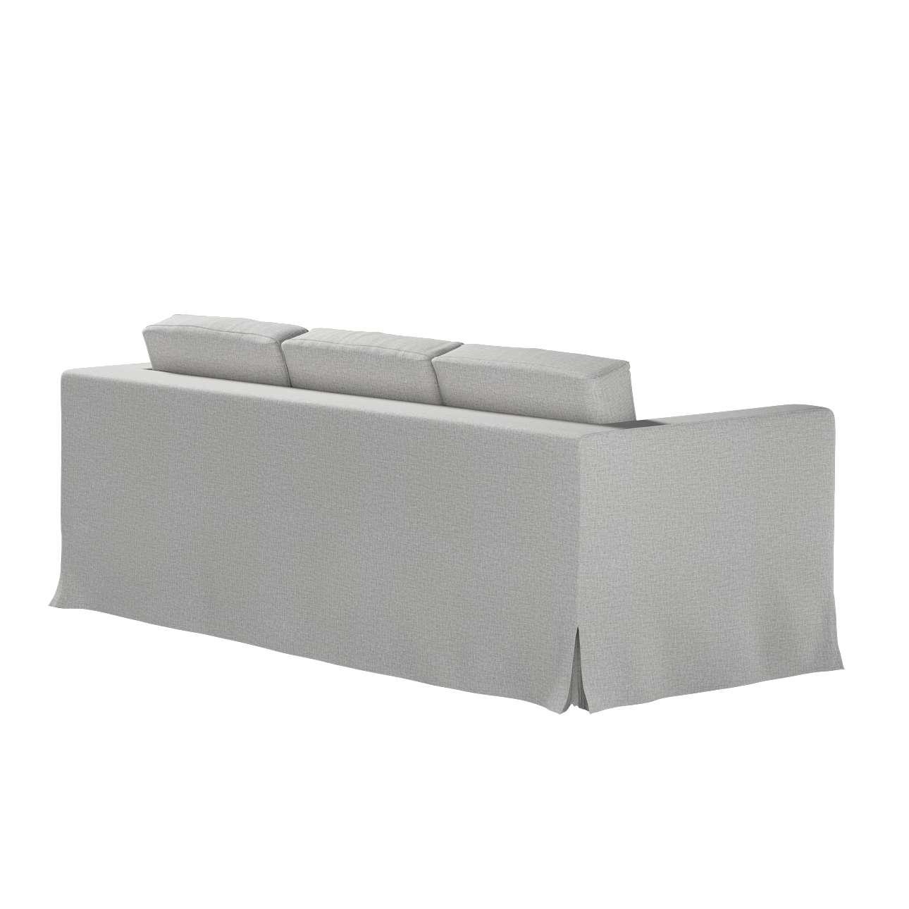Pokrowiec na sofę Karlanda 3-osobową nierozkładaną, długi w kolekcji Living II, tkanina: 160-89
