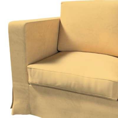 Pokrowiec na sofę Karlanda 3-osobową nierozkładaną, długi w kolekcji Living II, tkanina: 160-93