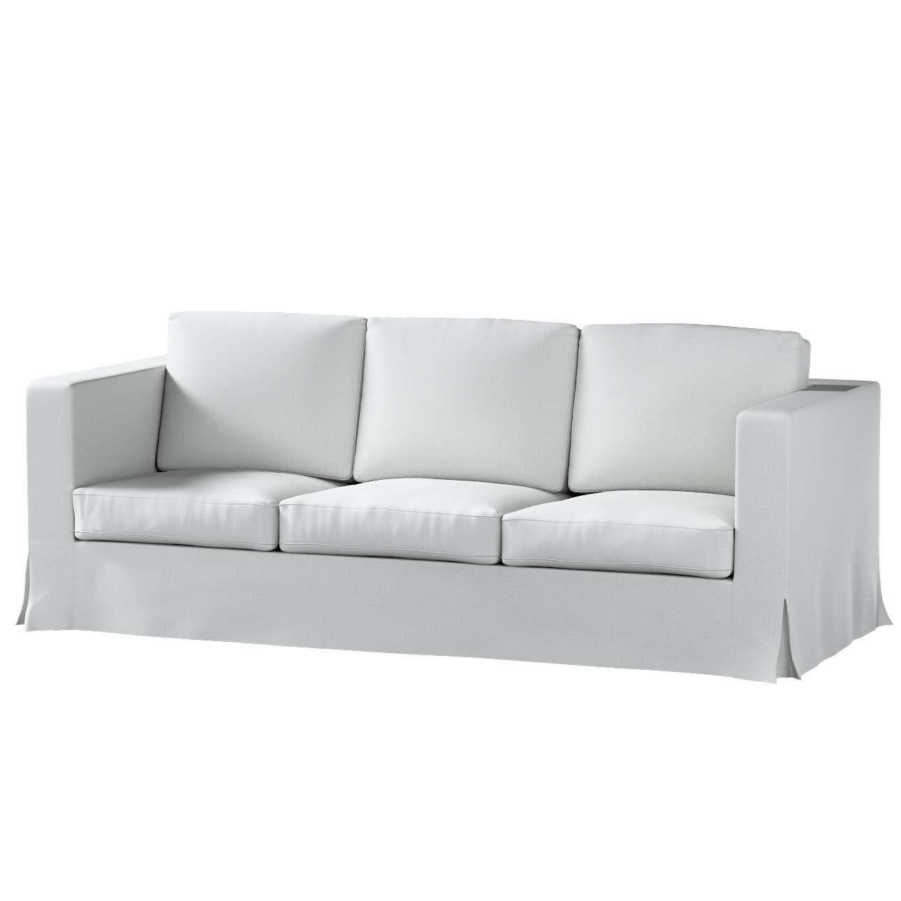 Pokrowiec na sofę Karlanda 3-osobową nierozkładaną, długi w kolekcji Living II, tkanina: 161-18