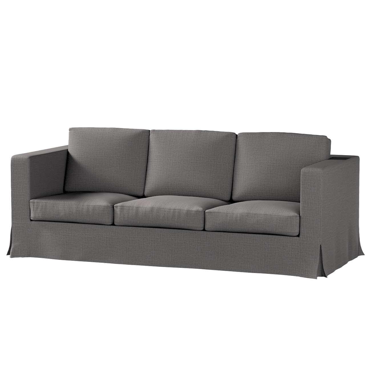 Karlanda 3-üléses  kanapé huzat nem kinyitható hosszú a kollekcióból Living 2, Dekoranyag: 161-16
