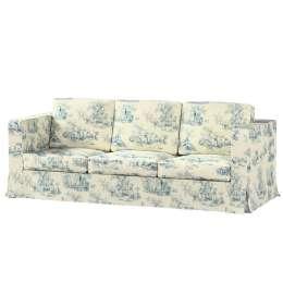 Floor length Karlanda 3-seater sofa cover