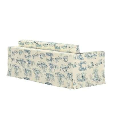 Bezug für Karlanda 3-Sitzer Sofa nicht ausklappbar, lang von der Kollektion Avinon, Stoff: 132-66
