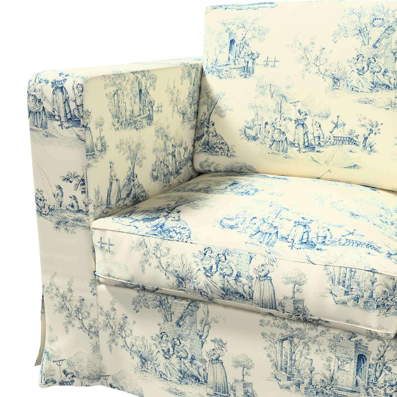 Karlanda 3-üléses  kanapé huzat nem kinyitható hosszú a kollekcióból Avinon Lakástextil, Dekoranyag: 132-66