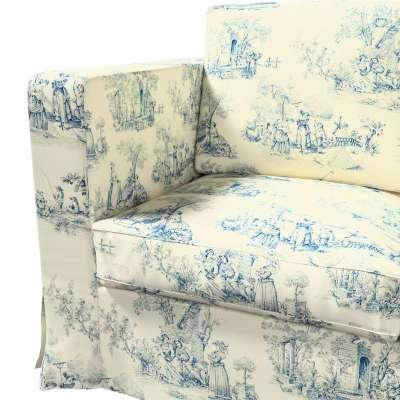 Pokrowiec na sofę Karlanda 3-osobową nierozkładaną, długi w kolekcji Avinon, tkanina: 132-66
