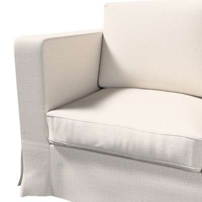 Pokrowiec na sofę Karlanda 3-osobową nierozkładaną, długi w kolekcji Living II, tkanina: 161-00