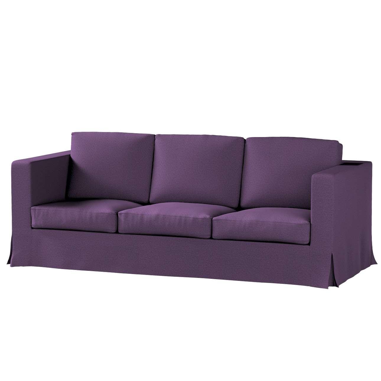 Karlanda 3-üléses  kanapé huzat nem kinyitható hosszú a kollekcióból Etna Bútorszövet, Dekoranyag: 161-27