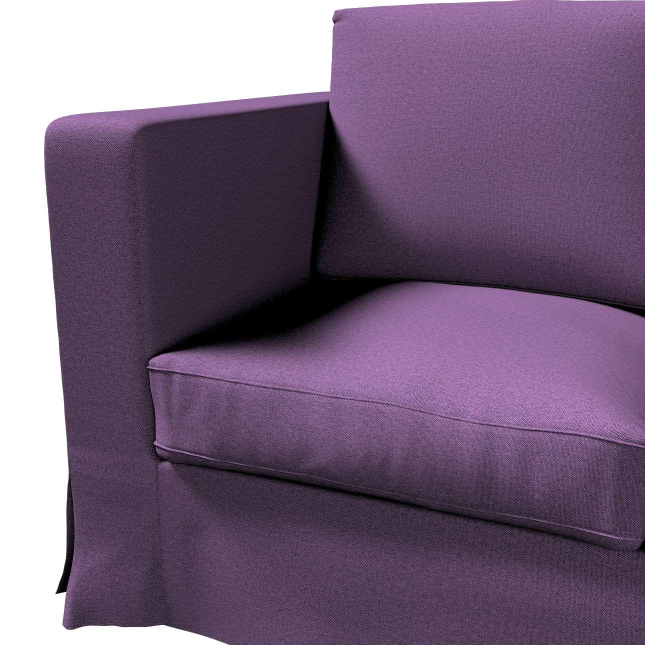 Pokrowiec na sofę Karlanda 3-osobową nierozkładaną, długi w kolekcji Etna, tkanina: 161-27