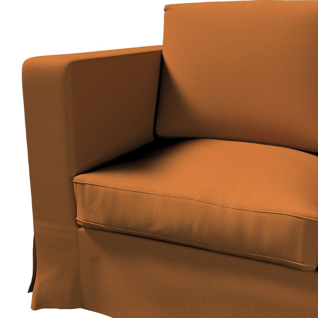 Pokrowiec na sofę Karlanda 3-osobową nierozkładaną, długi w kolekcji Living II, tkanina: 161-28