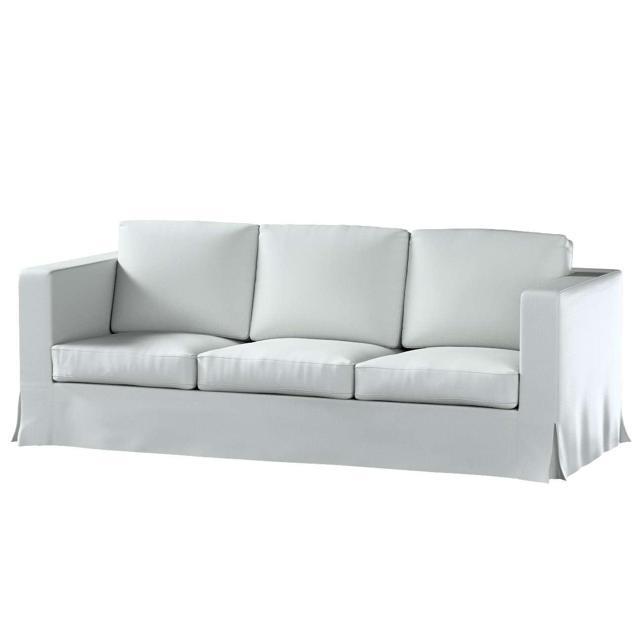 Pokrowiec na sofę Karlanda 3-osobową nierozkładaną, długi w kolekcji Bergen, tkanina: 161-72