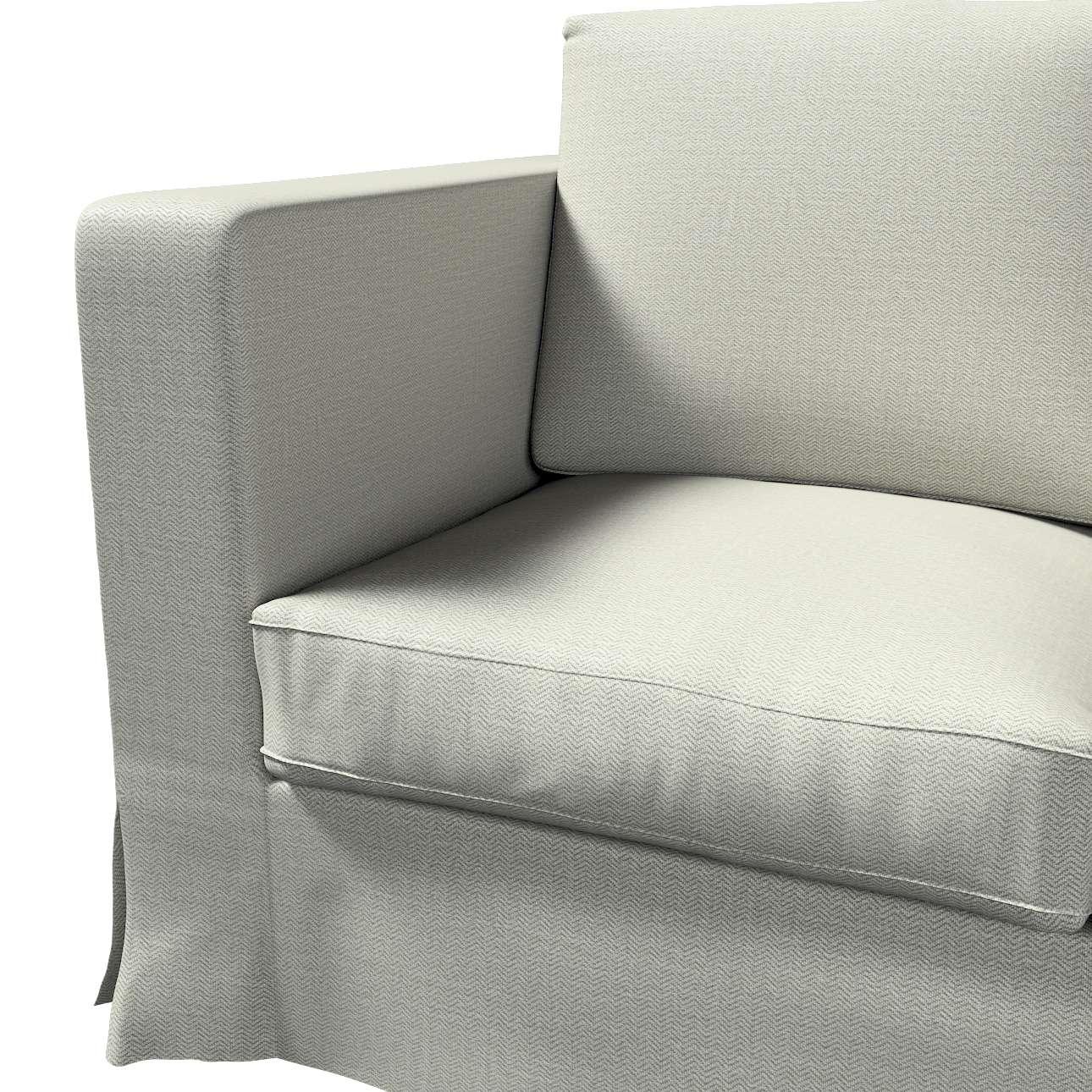 Karlanda klädsel 3-sits soffa - lång i kollektionen Bergen, Tyg: 161-83