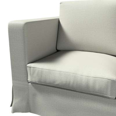 Pokrowiec na sofę Karlanda 3-osobową nierozkładaną, długi w kolekcji Bergen, tkanina: 161-83