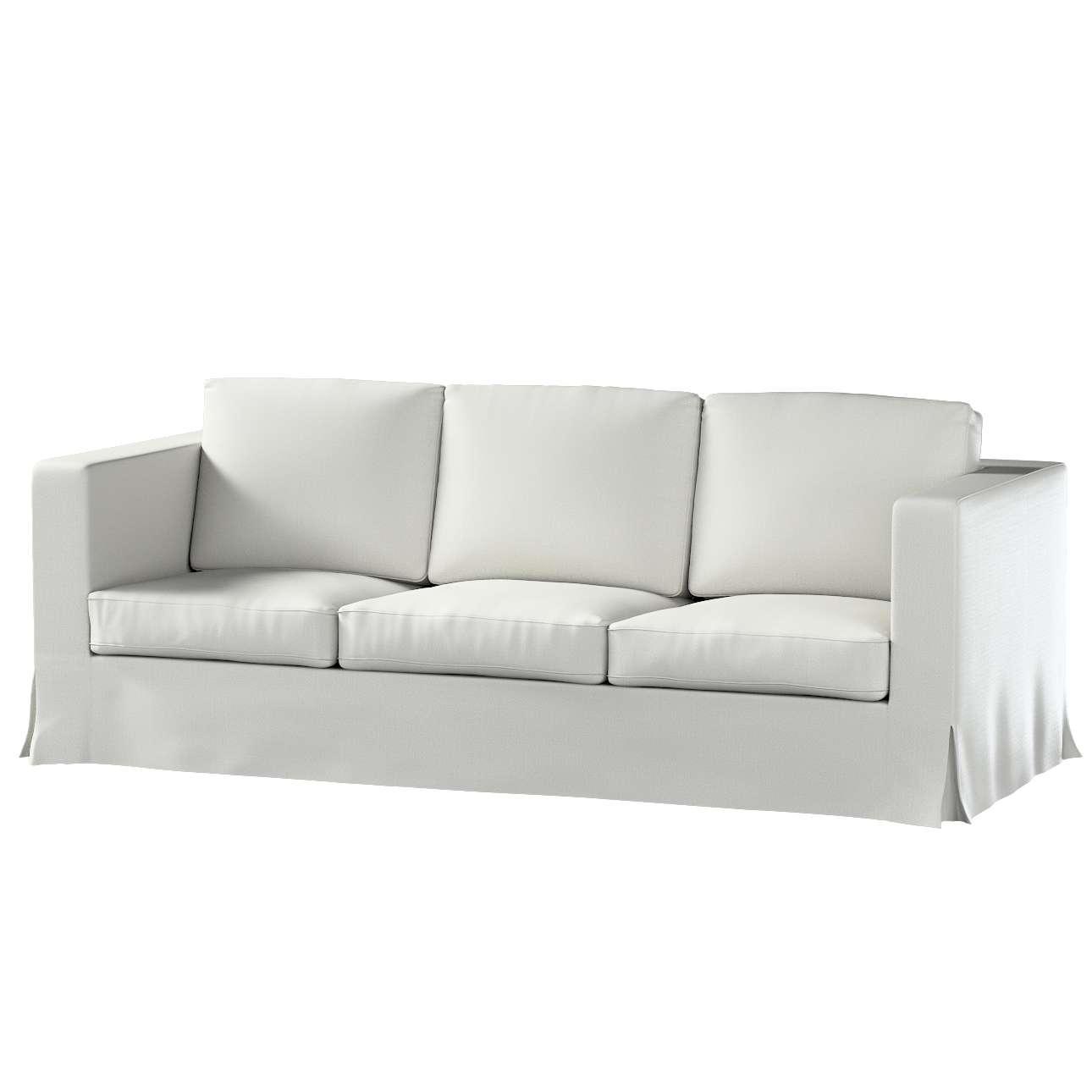 Pokrowiec na sofę Karlanda 3-osobową nierozkładaną, długi w kolekcji Bergen, tkanina: 161-84