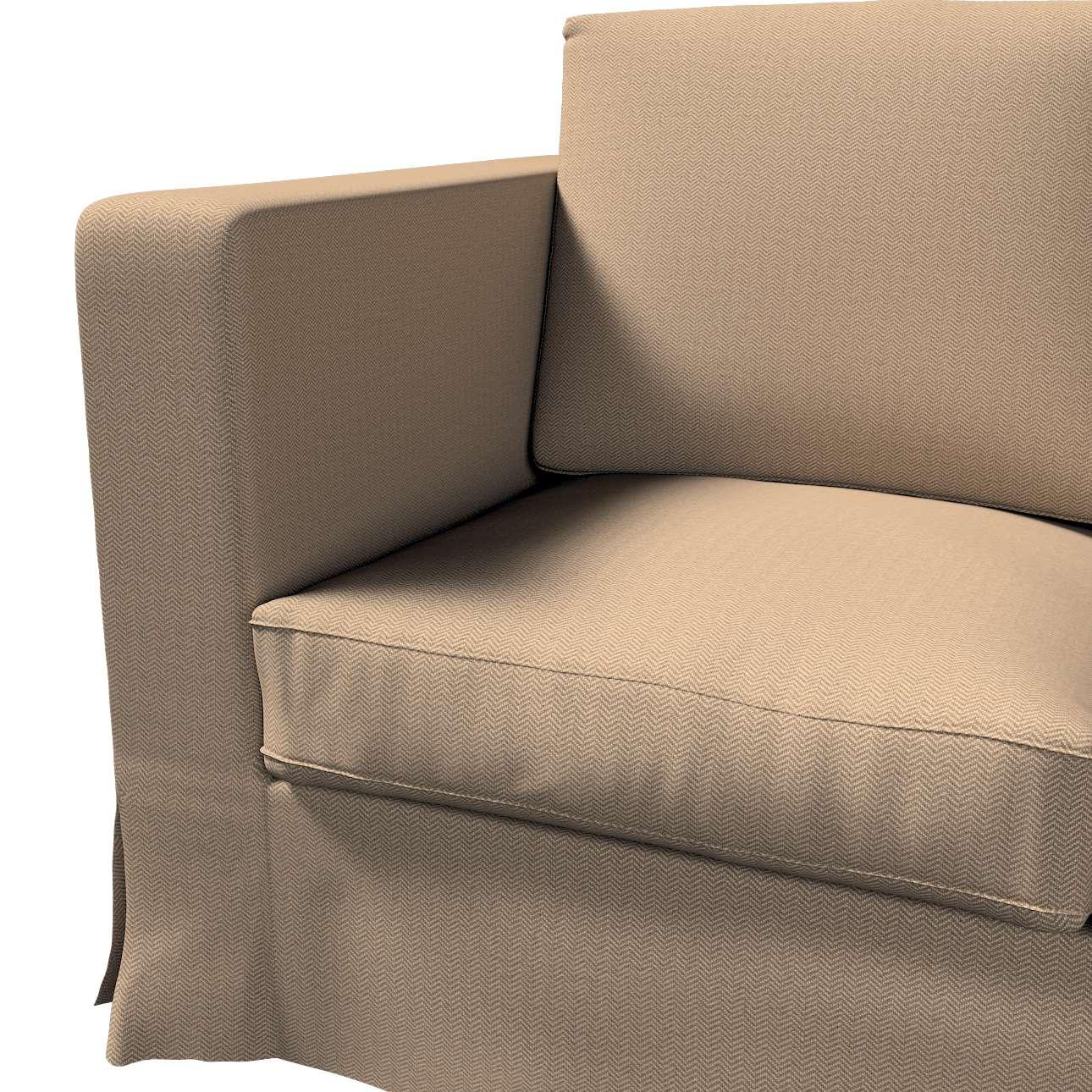 Bezug für Karlanda 3-Sitzer Sofa nicht ausklappbar, lang von der Kollektion Bergen, Stoff: 161-85