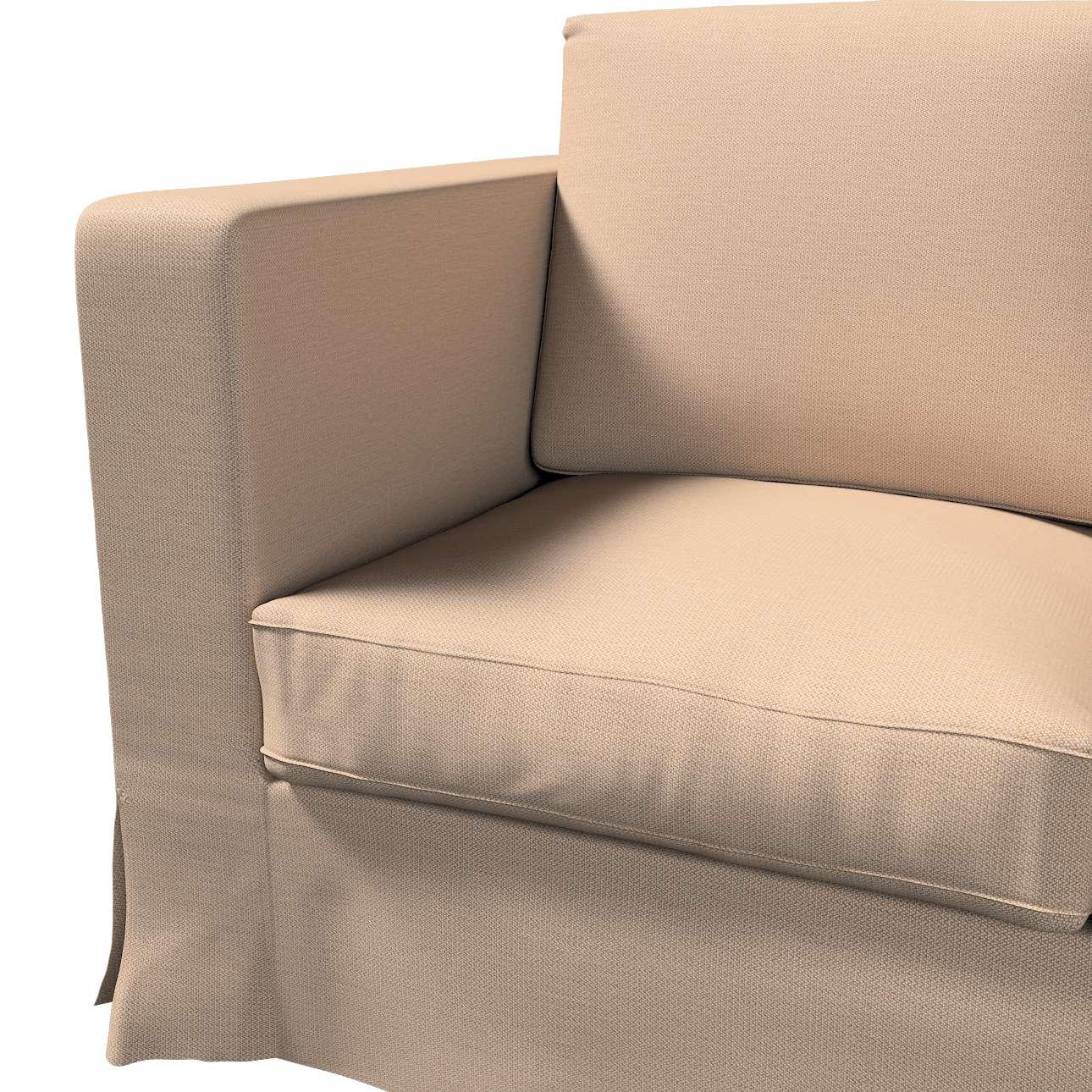Pokrowiec na sofę Karlanda 3-osobową nierozkładaną, długi w kolekcji Bergen, tkanina: 161-75