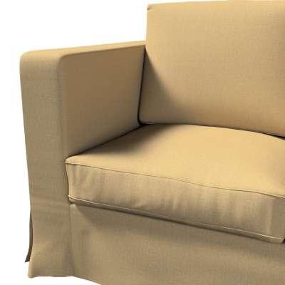 Pokrowiec na sofę Karlanda 3-osobową nierozkładaną, długi w kolekcji Living, tkanina: 161-50