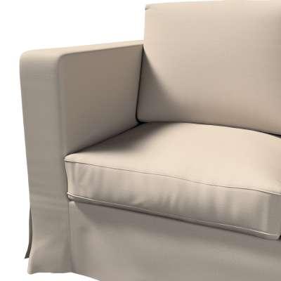 Pokrowiec na sofę Karlanda 3-osobową nierozkładaną, długi w kolekcji Living, tkanina: 161-53