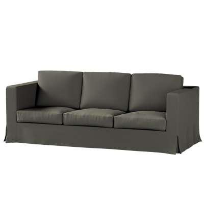 Pokrowiec na sofę Karlanda 3-osobową nierozkładaną, długi w kolekcji Living, tkanina: 161-55