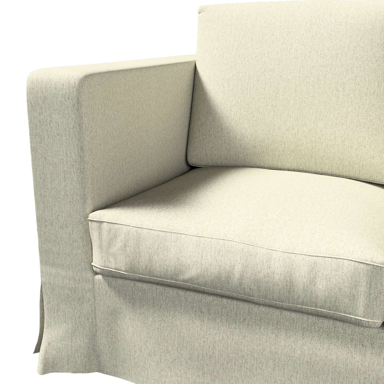 Bezug für Karlanda 3-Sitzer Sofa nicht ausklappbar, lang von der Kollektion Living, Stoff: 161-62