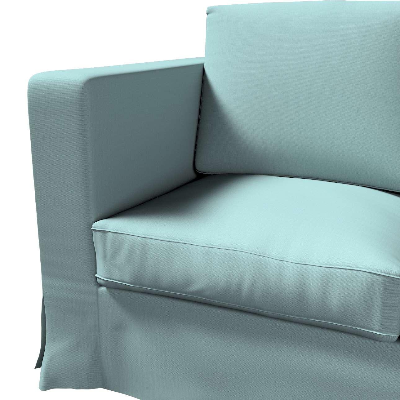 Karlanda klädsel 3-sits soffa - lång i kollektionen Panama Cotton, Tyg: 702-40