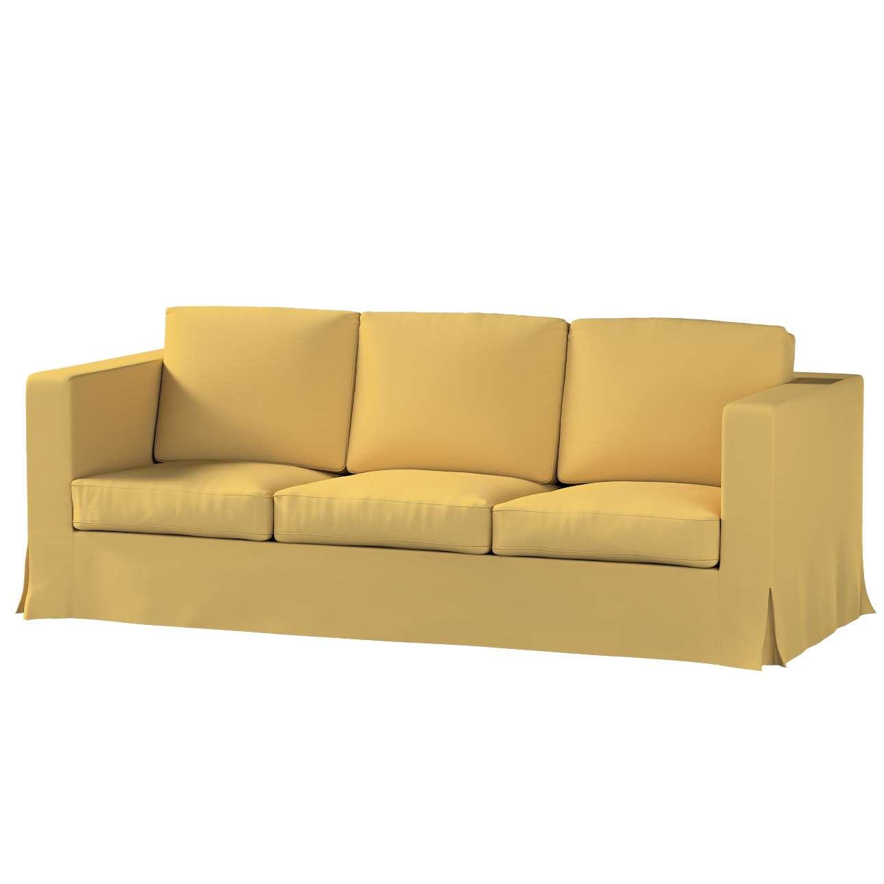 Karlanda 3-üléses  kanapé huzat nem kinyitható hosszú a kollekcióból Cotton Panama Bútorszövet, Dekoranyag: 702-41