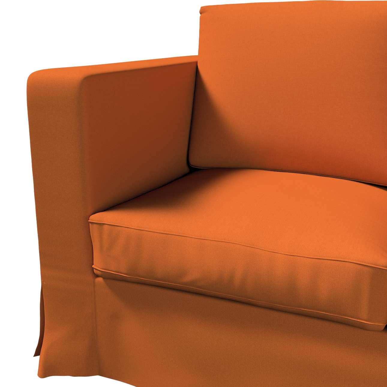 Karlanda klädsel 3-sits soffa - lång i kollektionen Panama Cotton, Tyg: 702-42