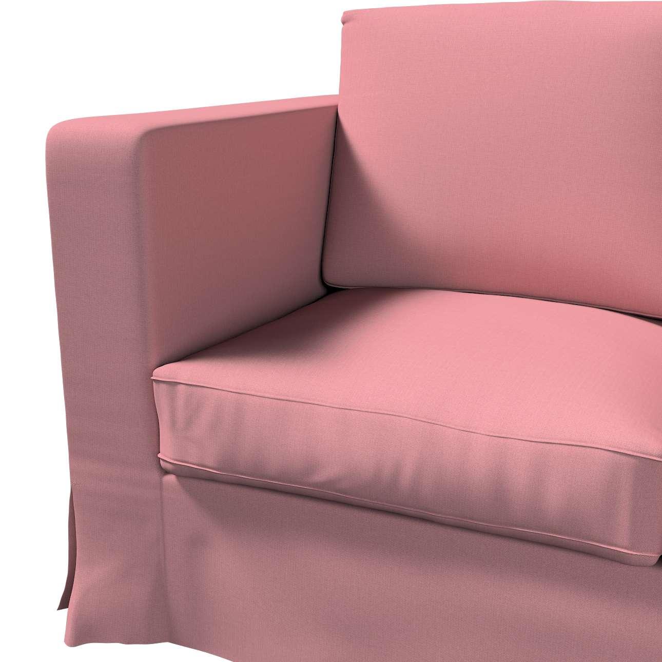 Karlanda klädsel 3-sits soffa - lång i kollektionen Panama Cotton, Tyg: 702-43