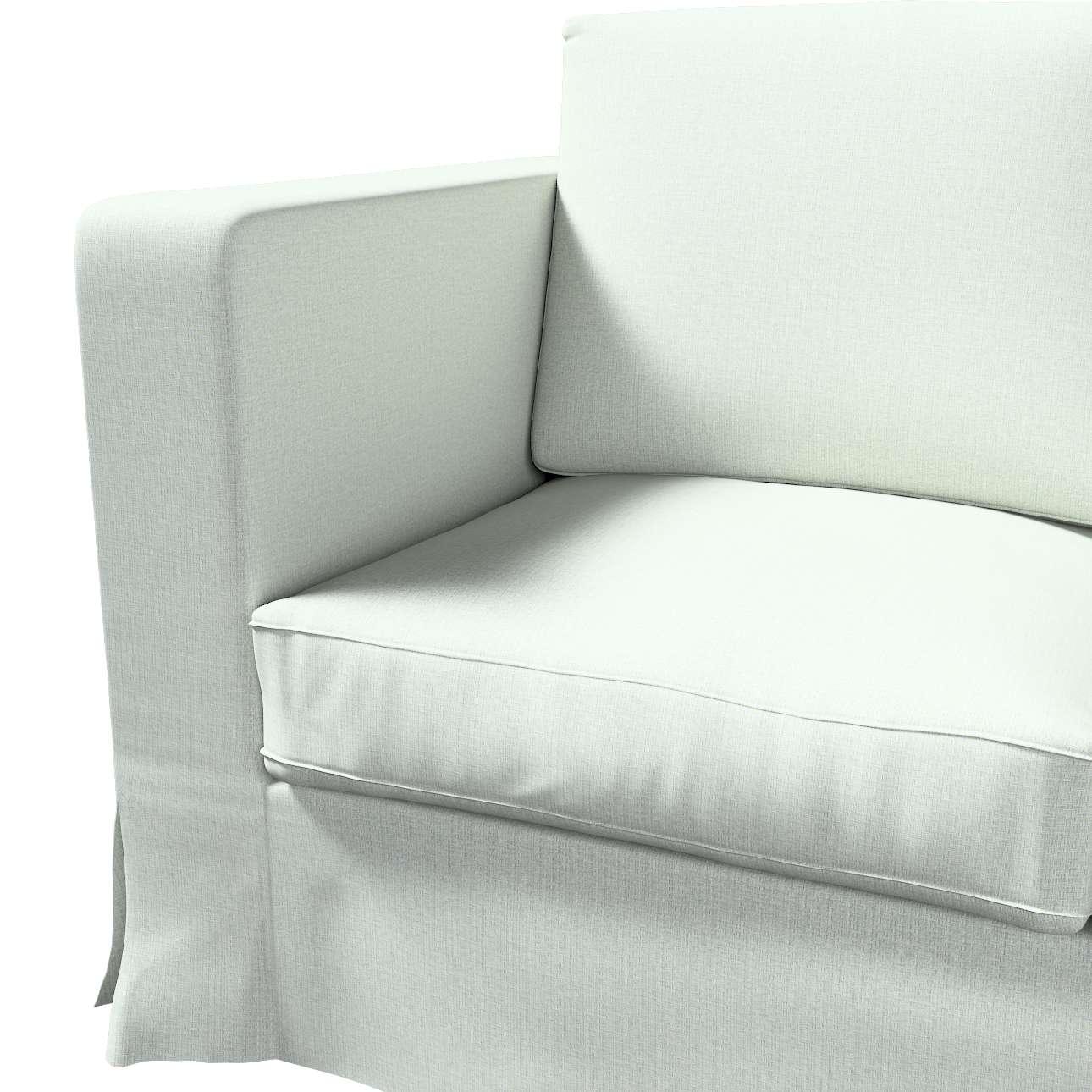 Pokrowiec na sofę Karlanda 3-osobową nierozkładaną, długi w kolekcji Living, tkanina: 161-41