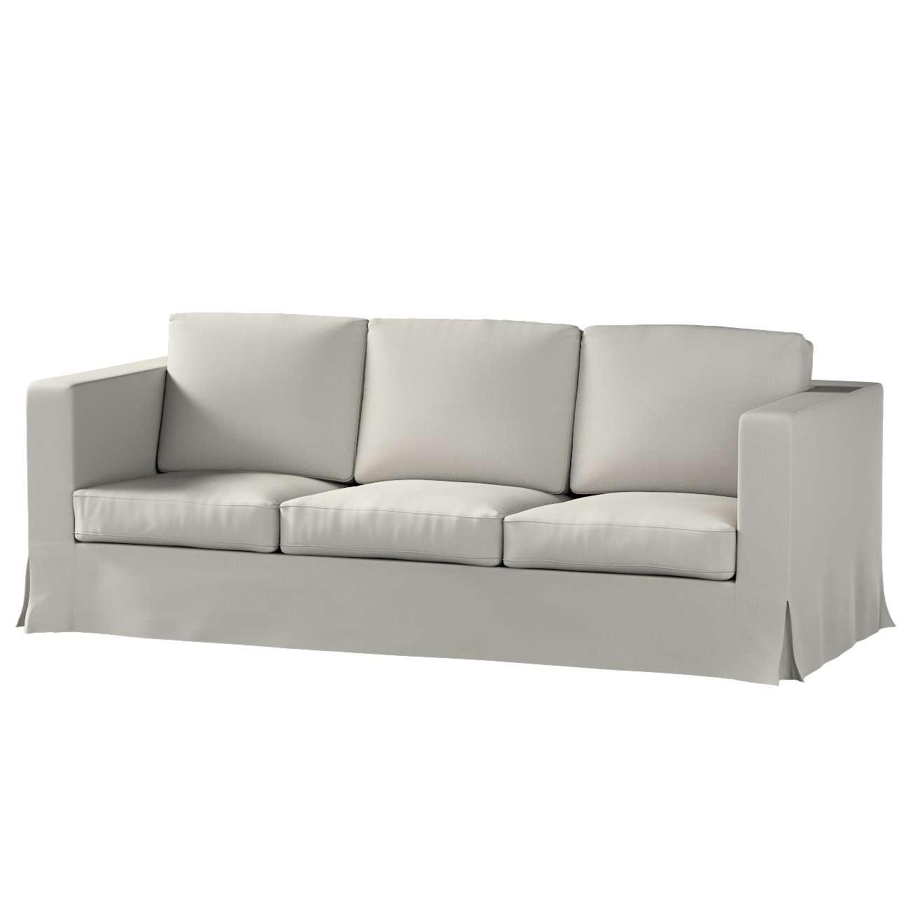 Pokrowiec na sofę Karlanda 3-osobową nierozkładaną, długi w kolekcji Living, tkanina: 161-54