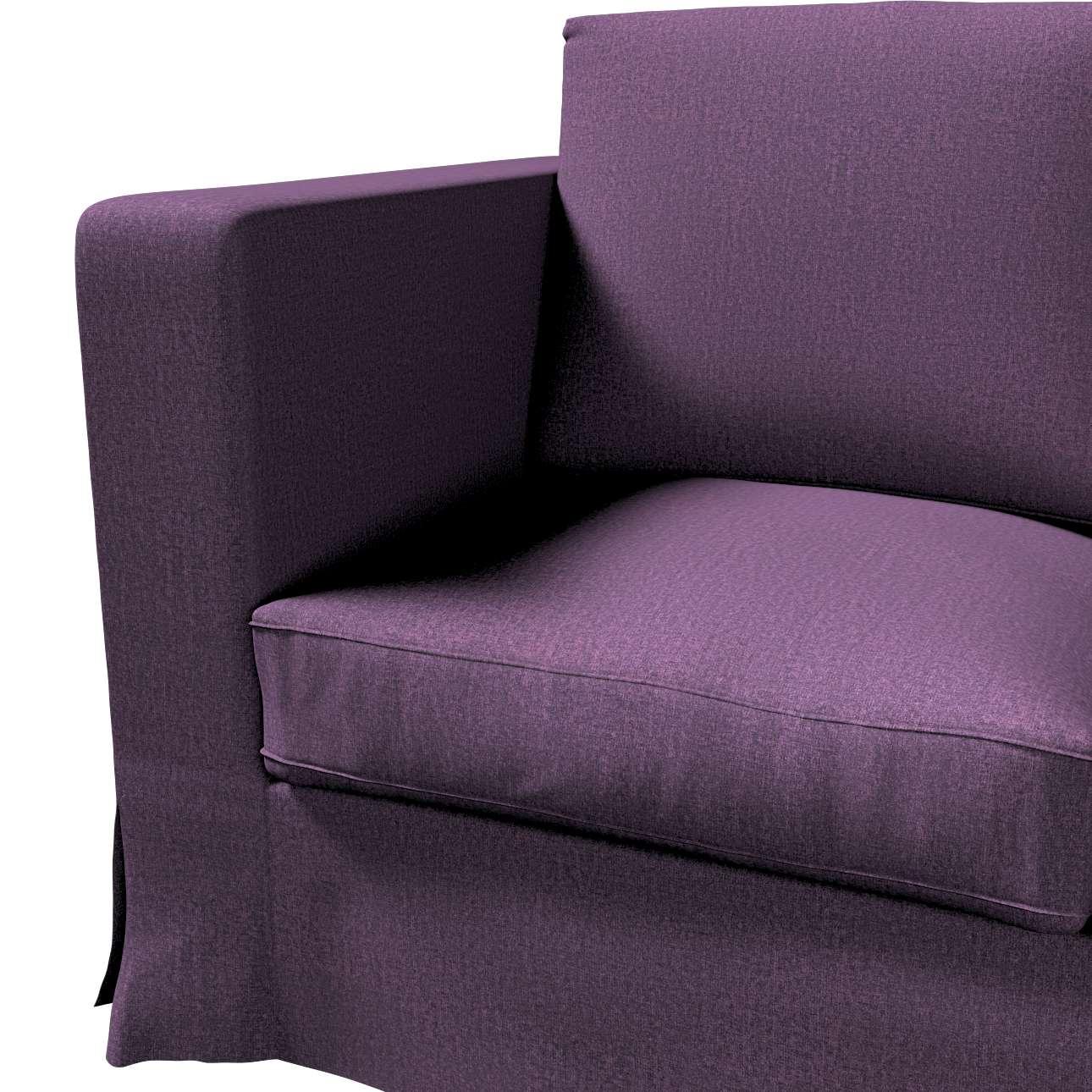 Pokrowiec na sofę Karlanda 3-osobową nierozkładaną, długi w kolekcji Living, tkanina: 161-67
