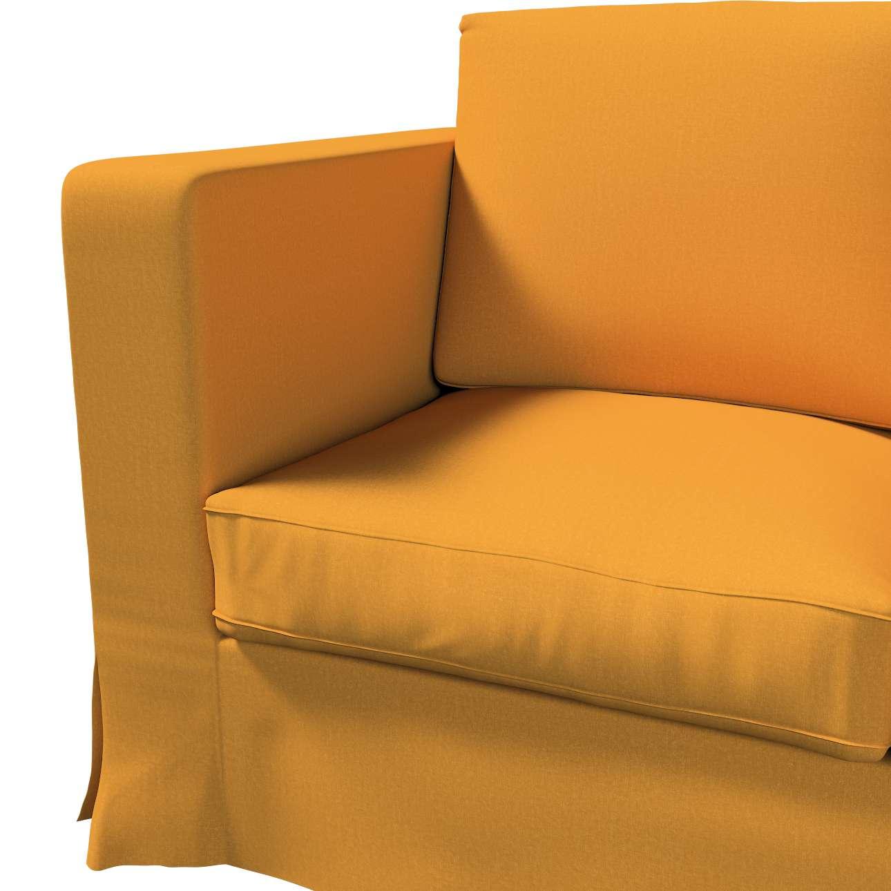 Pokrowiec na sofę Karlanda 3-osobową nierozkładaną, długi w kolekcji Living, tkanina: 161-64