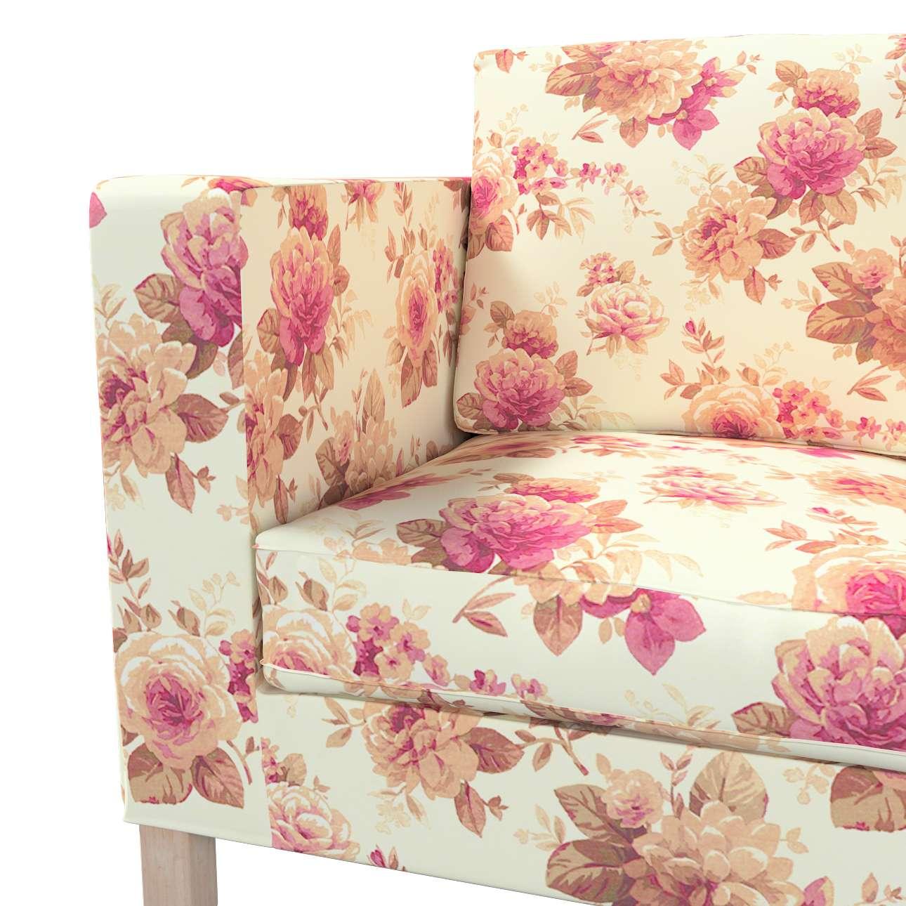 Huzat Karlanda 2-üléses kanapéra, nem kinyitható, rövid a kollekcióból Londres Bútorszövet, Dekoranyag: 141-06