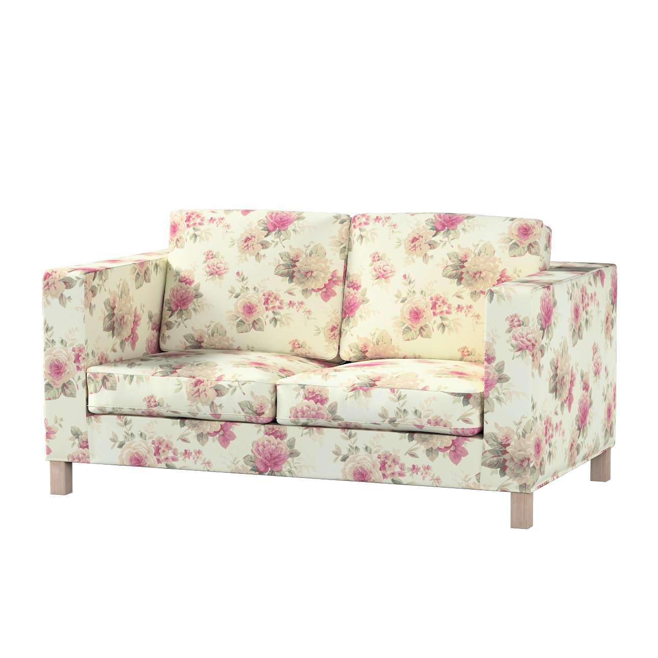 Karlanda klädsel<br>2-sits soffa - kort klädsel i kollektionen Londres, Tyg: 141-07
