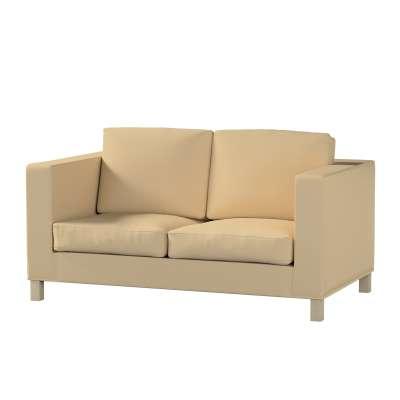Karlanda klädsel<br>2-sits soffa - kort klädsel i kollektionen Panama Cotton, Tyg: 702-01
