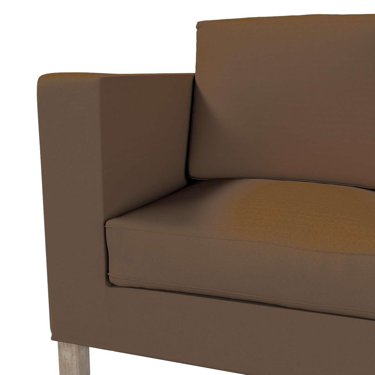 Karlanda betræk 2 sæder, kort fra kollektionen Cotton Panama, Stof: 702-02