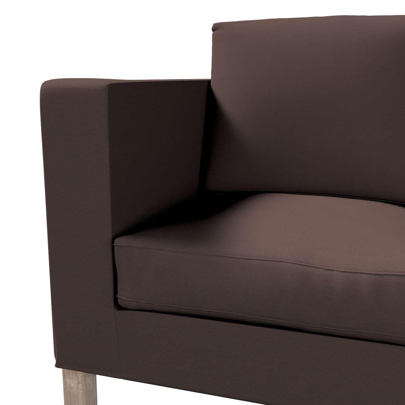 Karlanda betræk 2 sæder, kort fra kollektionen Cotton Panama, Stof: 702-03