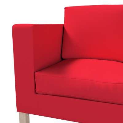 Bezug für Karlanda 2-Sitzer Sofa nicht ausklappbar, kurz von der Kollektion Cotton Panama, Stoff: 702-04