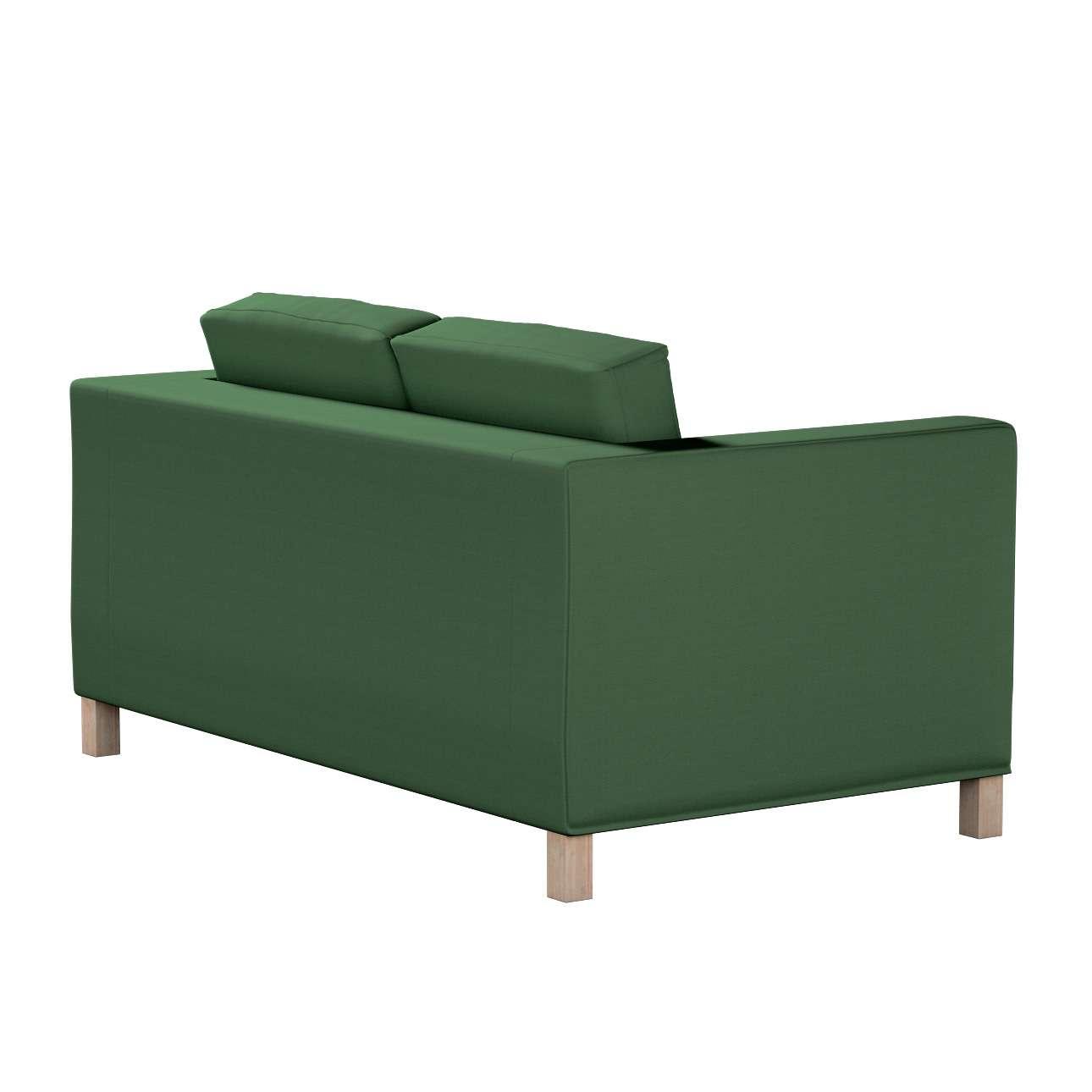 Huzat Karlanda 2-üléses kanapéra, nem kinyitható, rövid a kollekcióból Cotton Panama Bútorszövet, Dekoranyag: 702-06