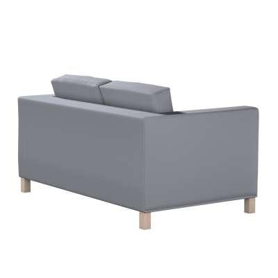 Pokrowiec na sofę Karlanda 2-osobową nierozkładaną, krótki w kolekcji Cotton Panama, tkanina: 702-07