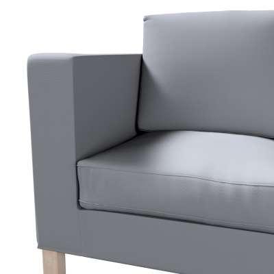 Karlanda 2-Sitzer Sofabezug nicht ausklappbar kurz von der Kollektion Cotton Panama, Stoff: 702-07