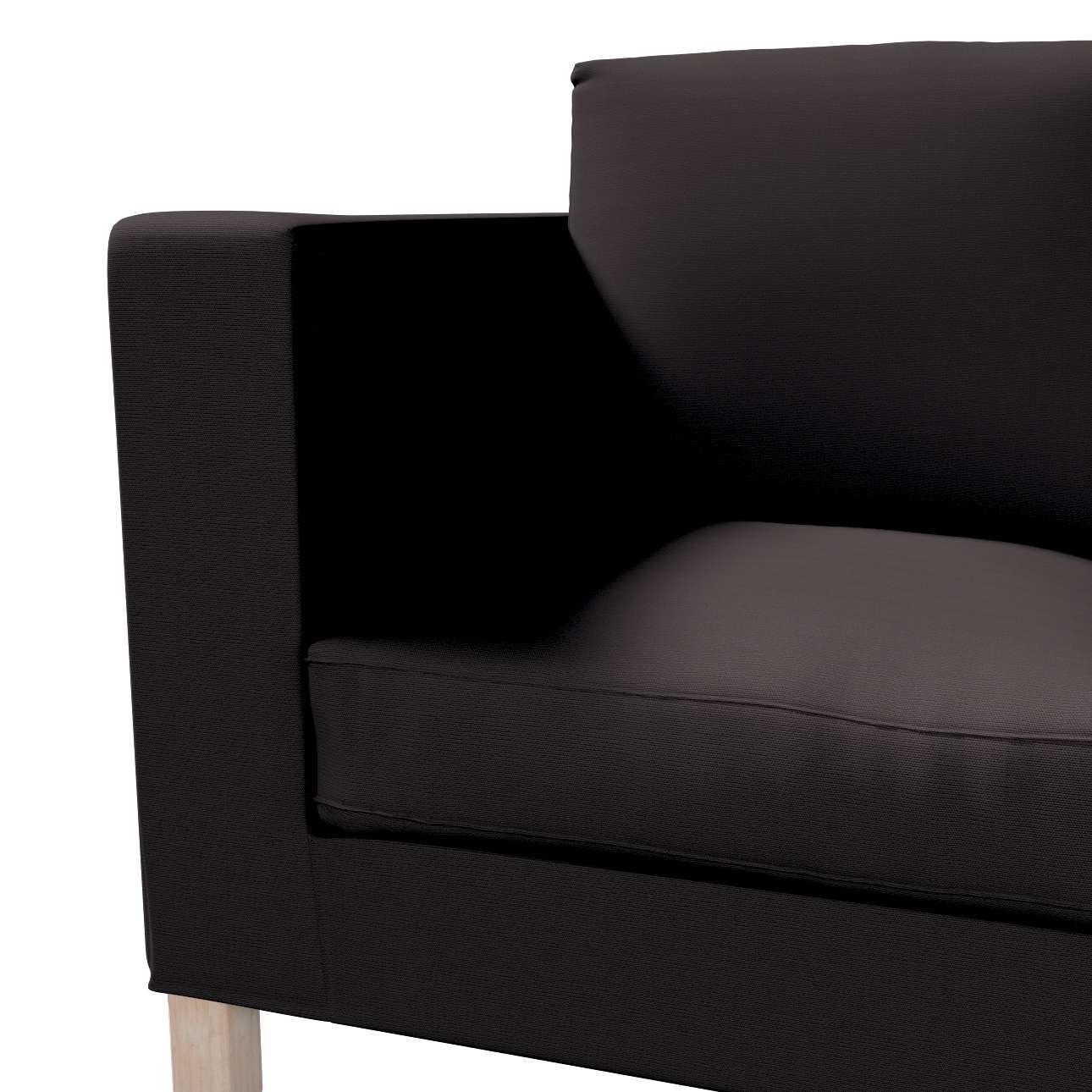 Potah na pohovku IKEA  Karlanda 2-místná, krátký v kolekci Cotton Panama, látka: 702-08
