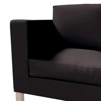 Pokrowiec na sofę Karlanda 2-osobową nierozkładaną, krótki w kolekcji Cotton Panama, tkanina: 702-08