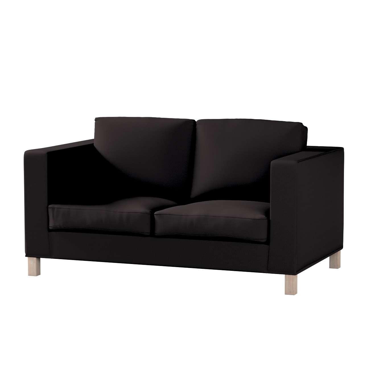 Pokrowiec na sofę Karlanda 2-osobową nierozkładaną, krótki Sofa Karlanda 2-os w kolekcji Cotton Panama, tkanina: 702-09