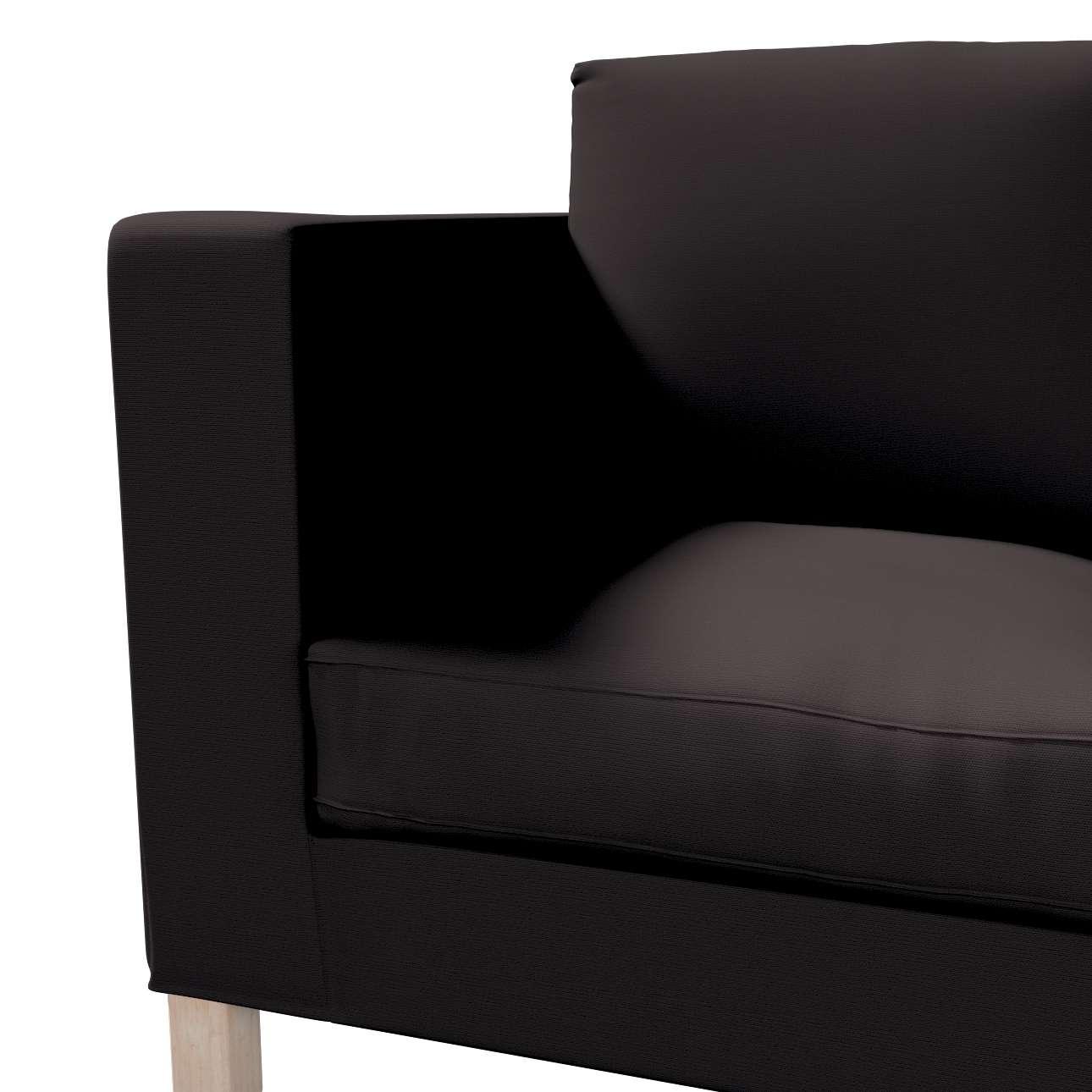 Karlanda betræk 2 sæder, kort fra kollektionen Cotton Panama, Stof: 702-09