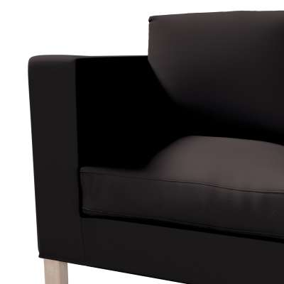 Pokrowiec na sofę Karlanda 2-osobową nierozkładaną, krótki w kolekcji Cotton Panama, tkanina: 702-09