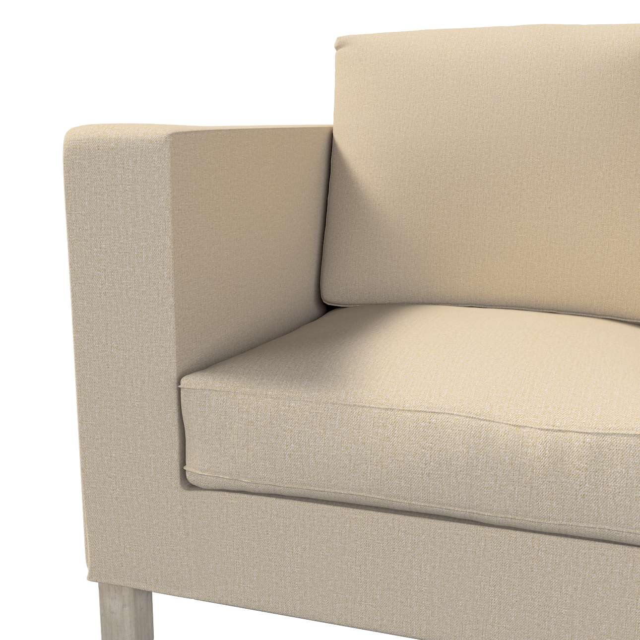Pokrowiec na sofę Karlanda 2-osobową nierozkładaną, krótki w kolekcji Edinburgh, tkanina: 115-78