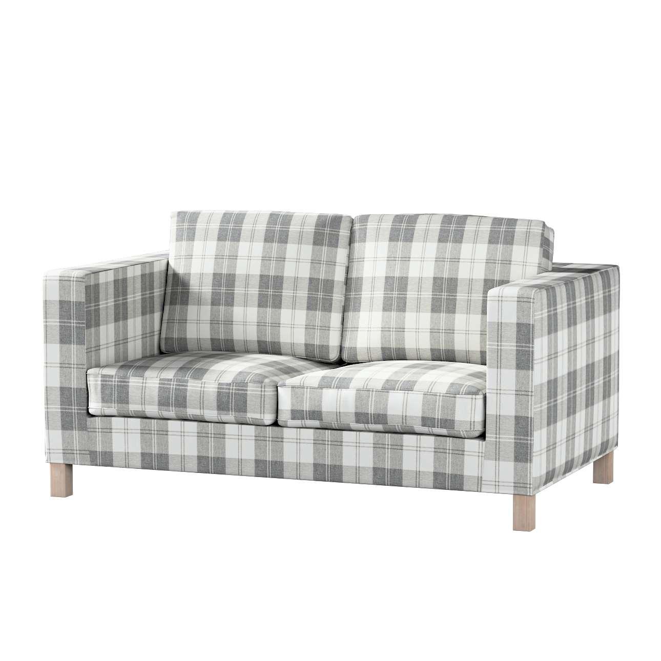 Pokrowiec na sofę Karlanda 2-osobową nierozkładaną, krótki Sofa Karlanda 2-os w kolekcji Edinburgh, tkanina: 115-79