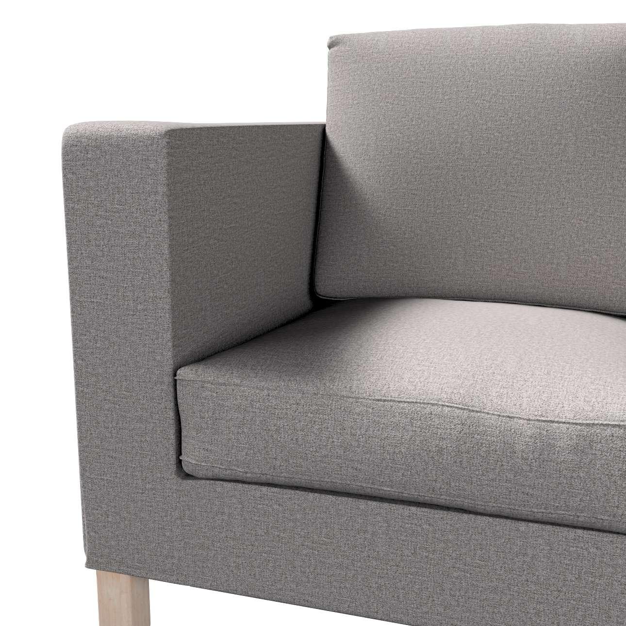 Pokrowiec na sofę Karlanda 2-osobową nierozkładaną, krótki w kolekcji Edinburgh, tkanina: 115-81