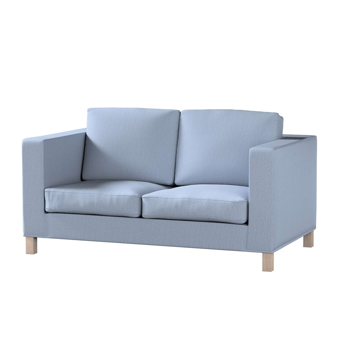 Karlanda 2-Sitzer Sofabezug nicht ausklappbar kurz Karlanda 2-Sitzer von der Kollektion Chenille , Stoff: 702-13