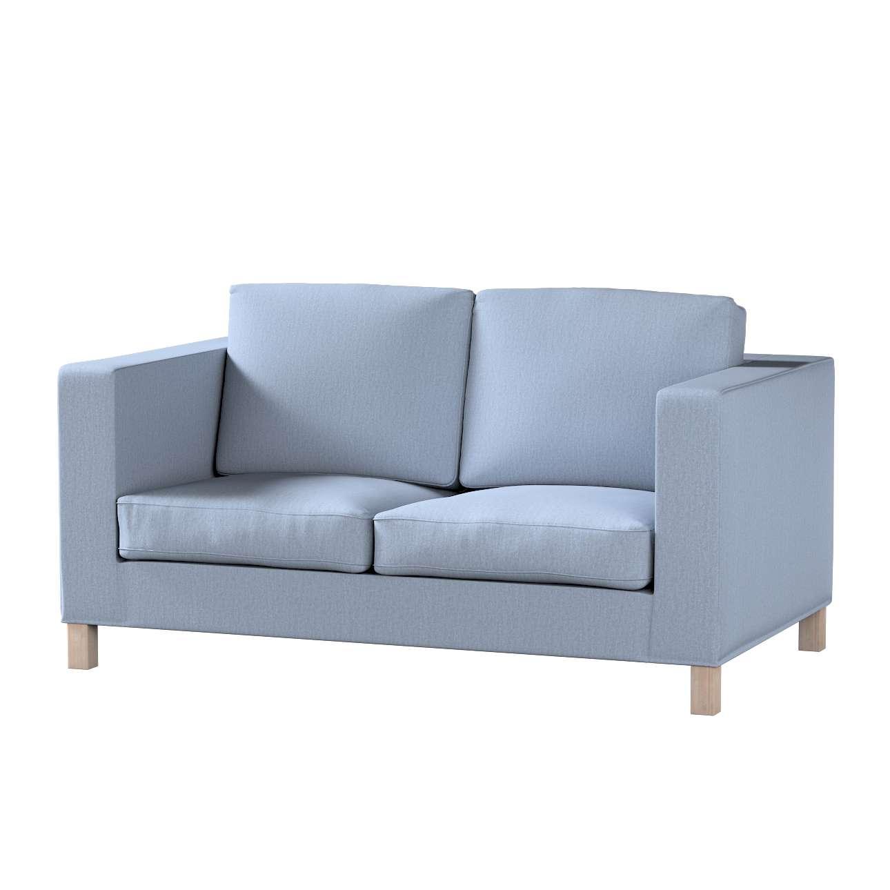Pokrowiec na sofę Karlanda 2-osobową nierozkładaną, krótki Sofa Karlanda 2-os w kolekcji Chenille, tkanina: 702-13